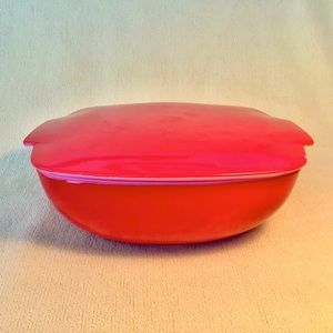 PYREX | Vintage Square Casserole Dish with Lid